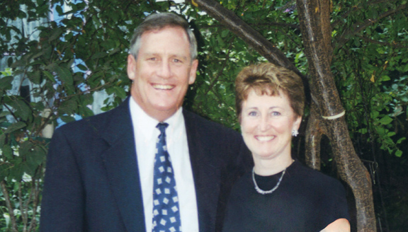 Dr. Jerry Young and Dr. Maureen Short